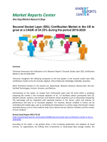Secured Socket Layer Certification Market - Opportunities and Forecast, 2016 - 2020