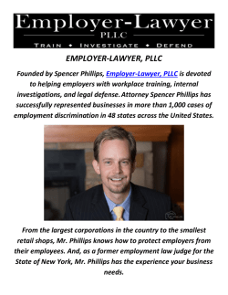 Employer-Lawyer, PLLC : EEOC Attorneys In Lehi, Utah