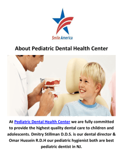 Pediatric Dentist Health Center in NJ