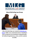 McFarling Law Group - Divorce Lawyer in Las Vegas