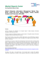 Enterprise Information Management Market Insights, Emerging Trends, Growth and Forecasts, 2016-2020