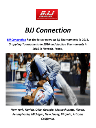 Brazilian Jiu Jitsu Tournaments In Florida