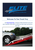 Tow Truck Troy | Towing Company in Troy