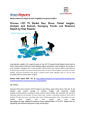 Chinese LCD TV Market Analysis and Emerging Trends and Research Report by Hexa Reports