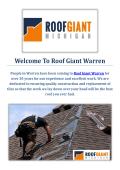 Roof Giant | Roofing Contractors in Warren