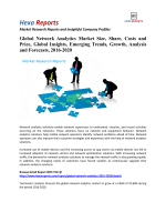 Global Network Analytics Market Is Anticipated To Grow At A CAGR of 25.68% By 2020: Hexa Reports