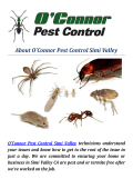 O'Connor Pest & Termite Control Simi Valley
