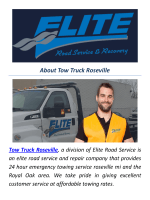 Towing Truck Service in Roseville MI