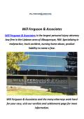 Will Ferguson & Associates : Wrongful Death Lawyer In Albuquerque