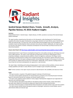 Genital Herpes Market Share, Global Insights and Pipeline Review, H1 2016 by Radiant Insights