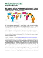 Matrix Metalloproteinase 9 Market Size, Share, Analysis and Forecasts 2016 - 2020