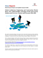 Global Architecture Engineering and Construction Market Share, Growth and Forecasts 2016-2020 By Hexa Reports