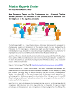 New Research Report on 20s Proteasome Inc. - Product Pipeline Review provides an overview of the pharmaceutical research and development of the pipeline products