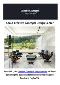 Creative Concepts Design Center - Flooring in Fairfax, VA