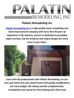 Palatin Remodeling Inc : Home Improvement In Los Angeles, CA