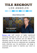 ReGrout USA | Tile Cleaning Service in Los Angeles, CA