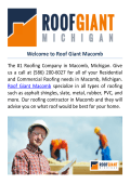 Roof Giant : Roofing Company Macomb, MI