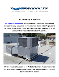 Air Products & Services : Ac Repair In Studio City