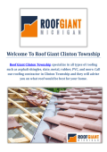 Roof Giant | Roofing Company in Clinton Township, MI