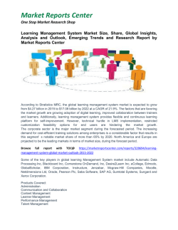 Learning Management System Market Growth, Size, Share and Forecast