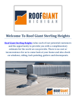 Roof Giant - Roofing Company in Sterling Heights