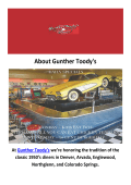 Gunther Toody's - Diners in Denver, CO