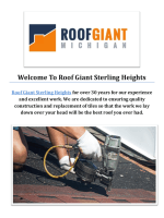 Roof Giant : Roofing Contractors Sterling Heights