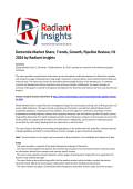 Dementia Market Causes, Share, Trends, Growth, Pipeline Review, H1 2016 by Radiant Insights