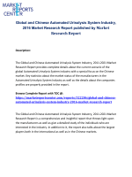 Global and Chinese Automated Urinalysis System Industry, 2016 Market