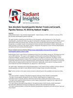 Non-Alcoholic Steatohepatitis Market Trends and Growth, Pipeline Review, H1 2016: Radiant Insights