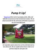 Pump It Up : Party RentalsIn HonoluluHawaii