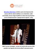 Marvelless Mark Kamp : Keynote Speaker In San Diego