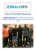 HealthFit Chiropractor in Pasadena