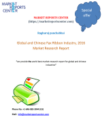 Global and chinies Fax Ribbon report 2016 market reports center