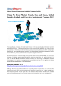 China Pet Food Market Size, Analysis and Overview, 2025: Hexa Reports