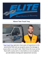 Tow Truck Troy Towing Service in Troy MI