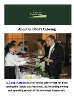G. Elliot's Catering Company in Tampa, FL