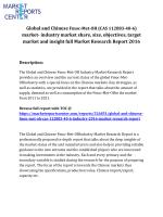 Global and Chinese Furfural;2-furaldehyde (CAS 35796)  market 2016 - 2020