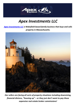 Apex Investments LLC : How To Sell My House Fast In Boston