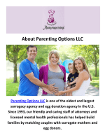 Parenting Options LLC - Surrogacy in Houston, TX
