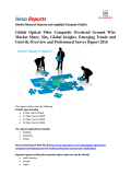 Global Optical Fiber Composite Overhead Ground Wire Market Professional Survey Report 2016 By Hexa Reports
