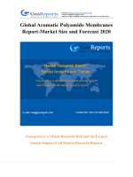 Global Aromatic Polyamide Membranes Report