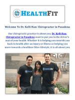Dr. Kelli Han: Chiropractor in Pasadena