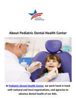 Pediatric Dental Health Center - Dentist in Horizon, NJ