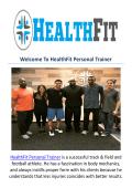 HealthFit Personal Training Pasadena, CA