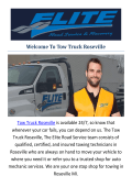 Tow Truck Roseville : Towing Roseville, MI