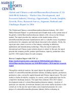 Global and Chinese o-nitrotrifluoromethoxybenzene (CAS 1644-88-8) Industry, 2016