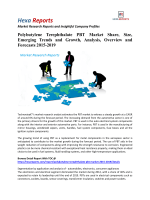 Polybutylene Terephthalate PBT Market Insights | 2016 Industry Report By Hexa Reports