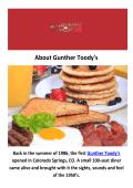 Gunther Toody's - Breakfast Restaurants in Denver, CO