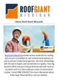 Roof Giant Macomb : Roof repair Macomb, MI